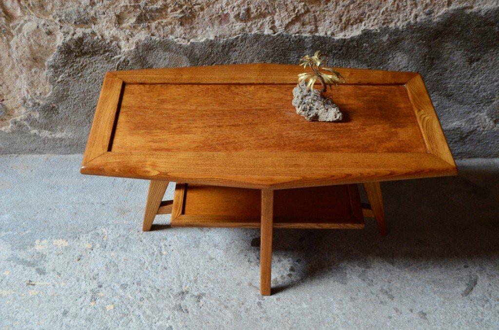 vintage couchtisch aus holz 1950er bei pamono kaufen. Black Bedroom Furniture Sets. Home Design Ideas