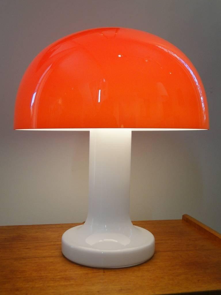 Lampe Champignon Vintage En Verre Par Michael Bang En Vente Sur Pamono
