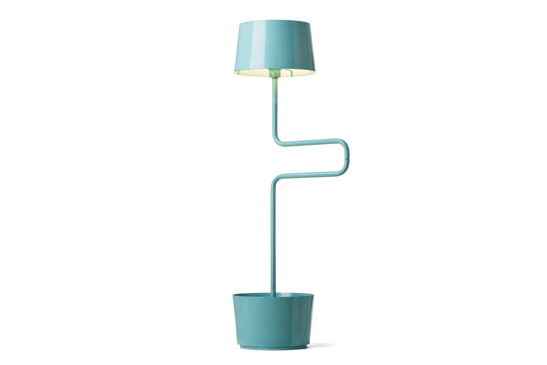 Türkise BB Lampe von Andrea Epifani für Officine Tamborrino