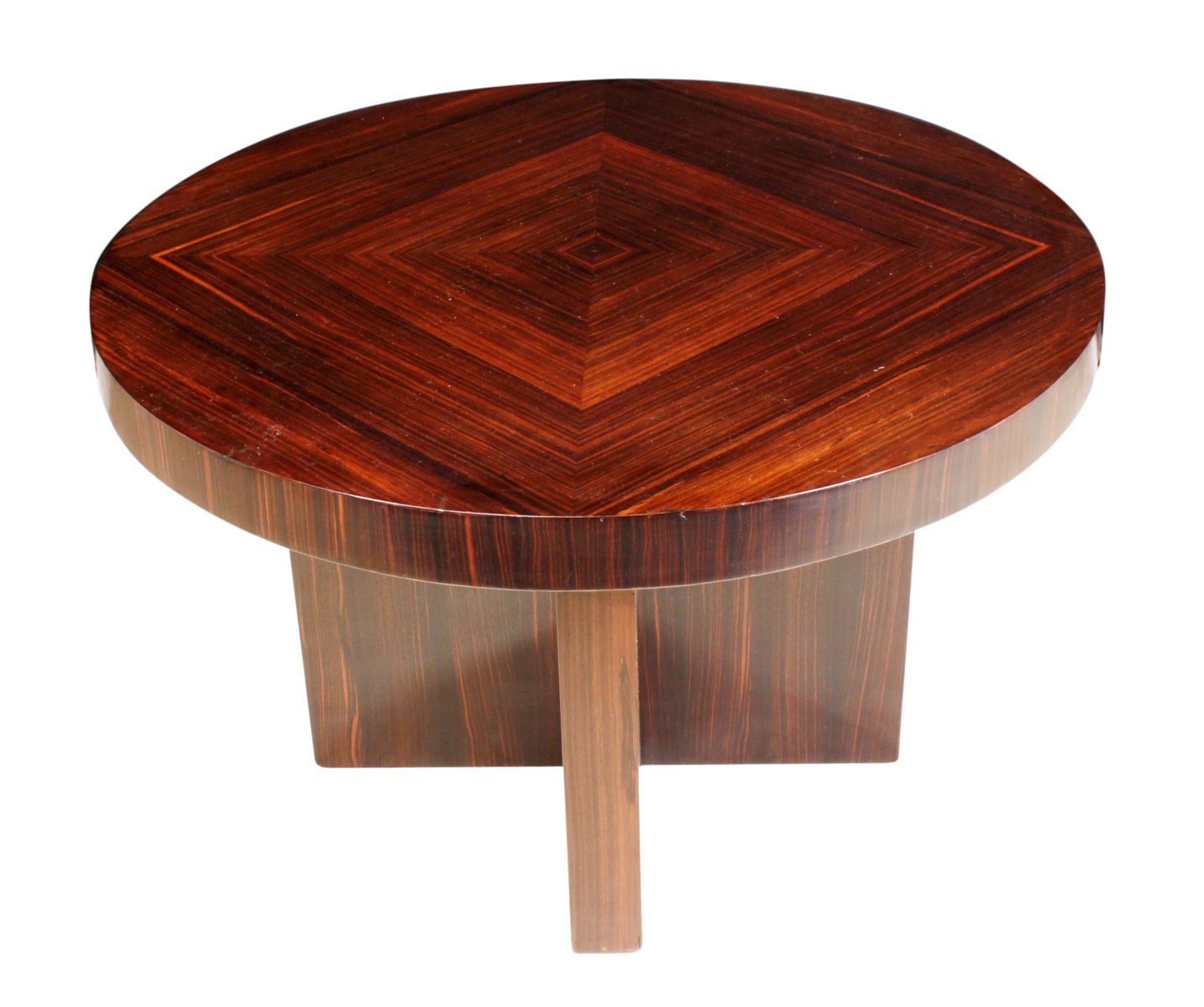 Macassar Ebony Coffee Table, 1930s For Sale At Pamono