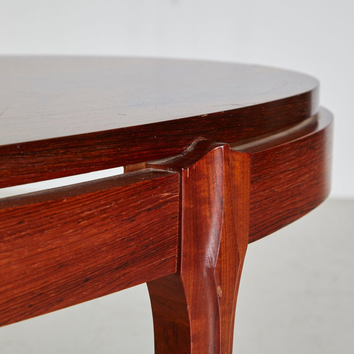 Vintage Oval Coffee Tables: Vintage Rosewood Oval Coffee Table, 1960s For Sale At Pamono