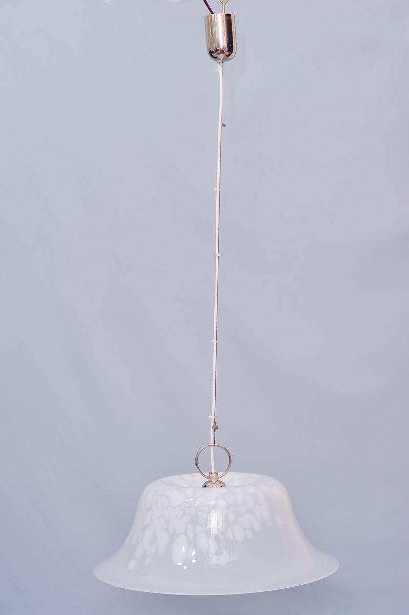 Hängelampe aus Muranoglas von J. T. Kalmar, 1960er