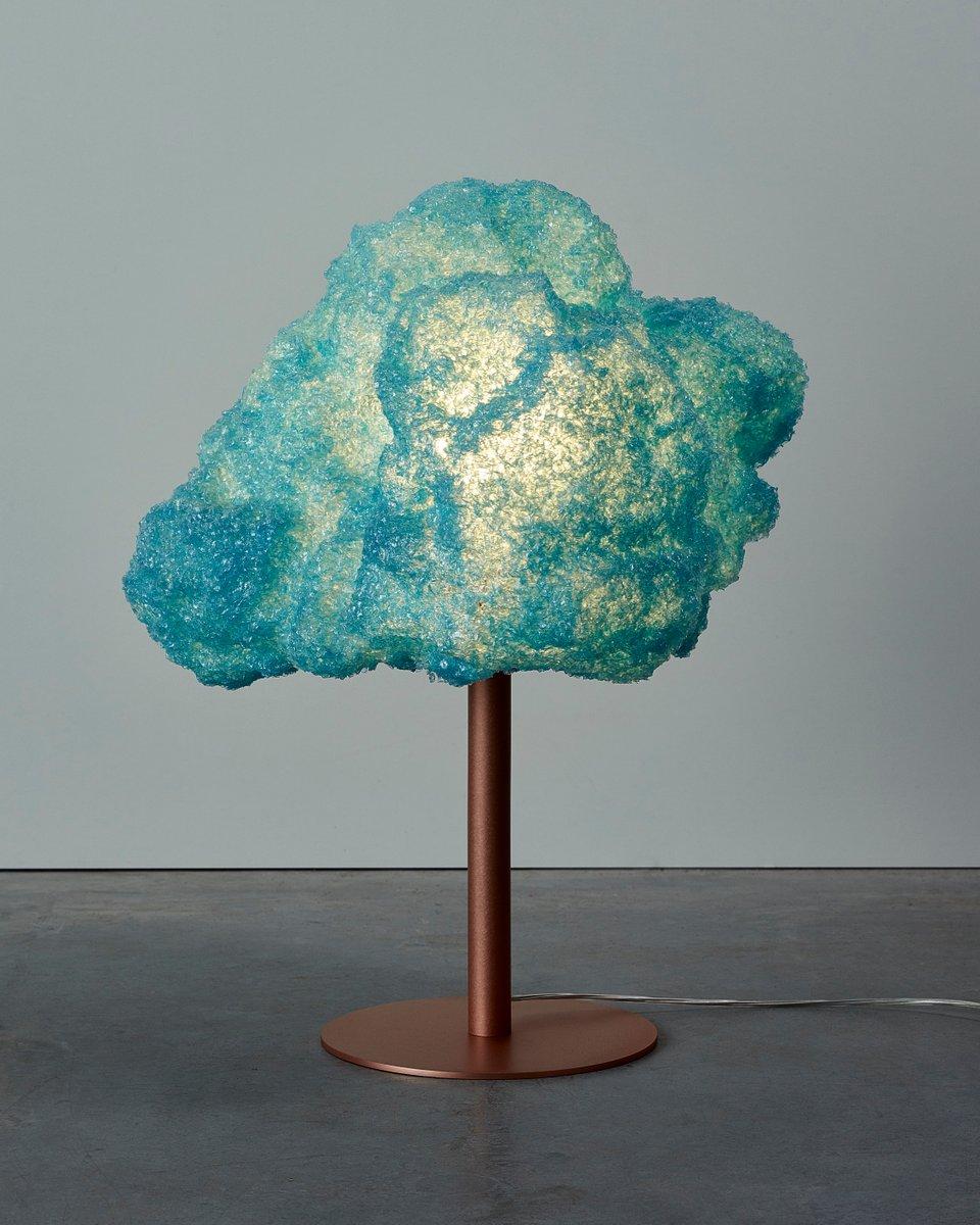 Lampe in Sturm-Optik, Base II — M von Johannes Hemann