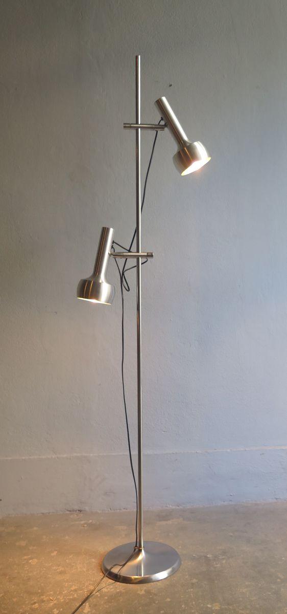 Vintage Stehlampe von Schweizer Lampen International