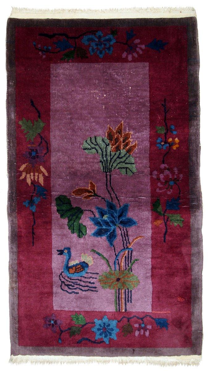Handgefertigter chinesischer art deco teppich 1920er bei - Art deco teppich ...