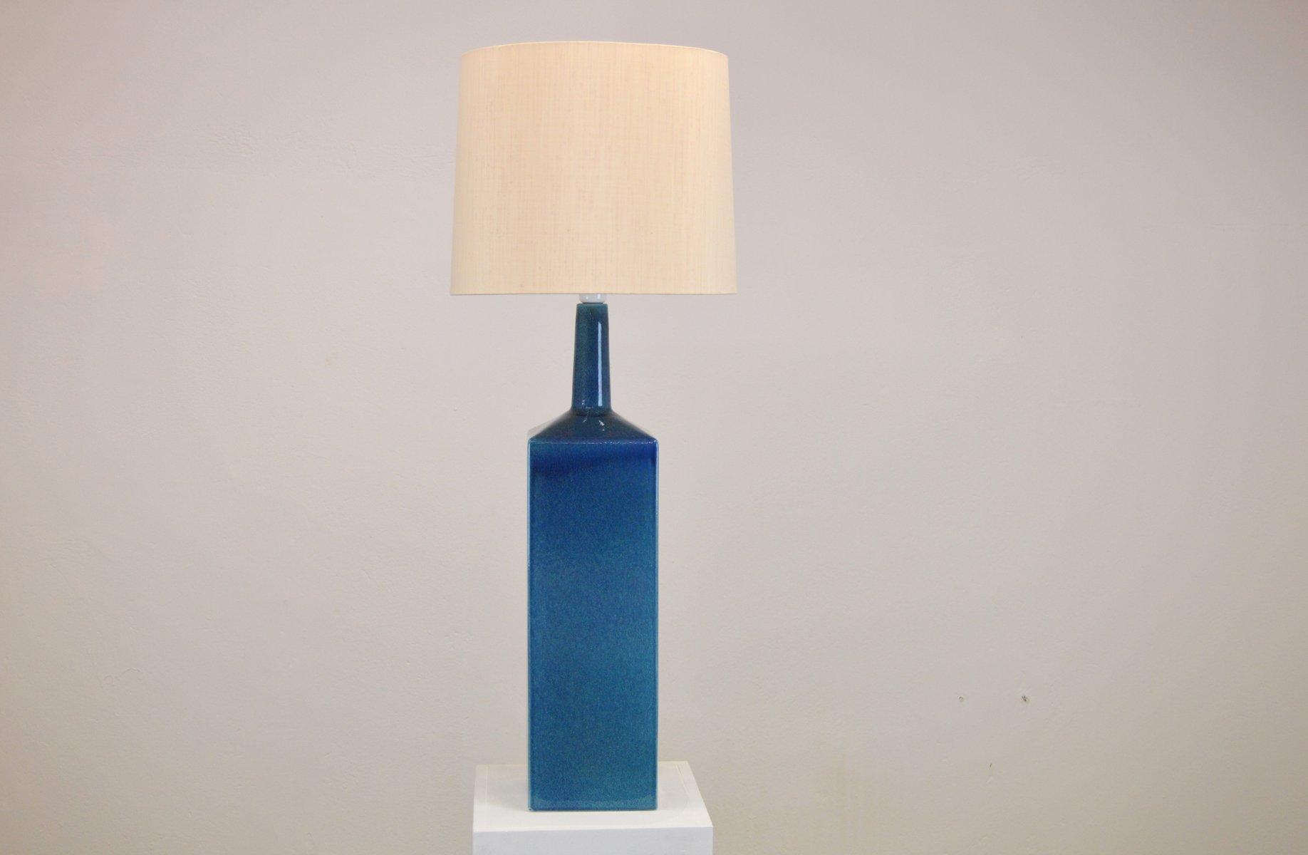 Große Tischlampe aus Keramik von Le Klint, 1960er