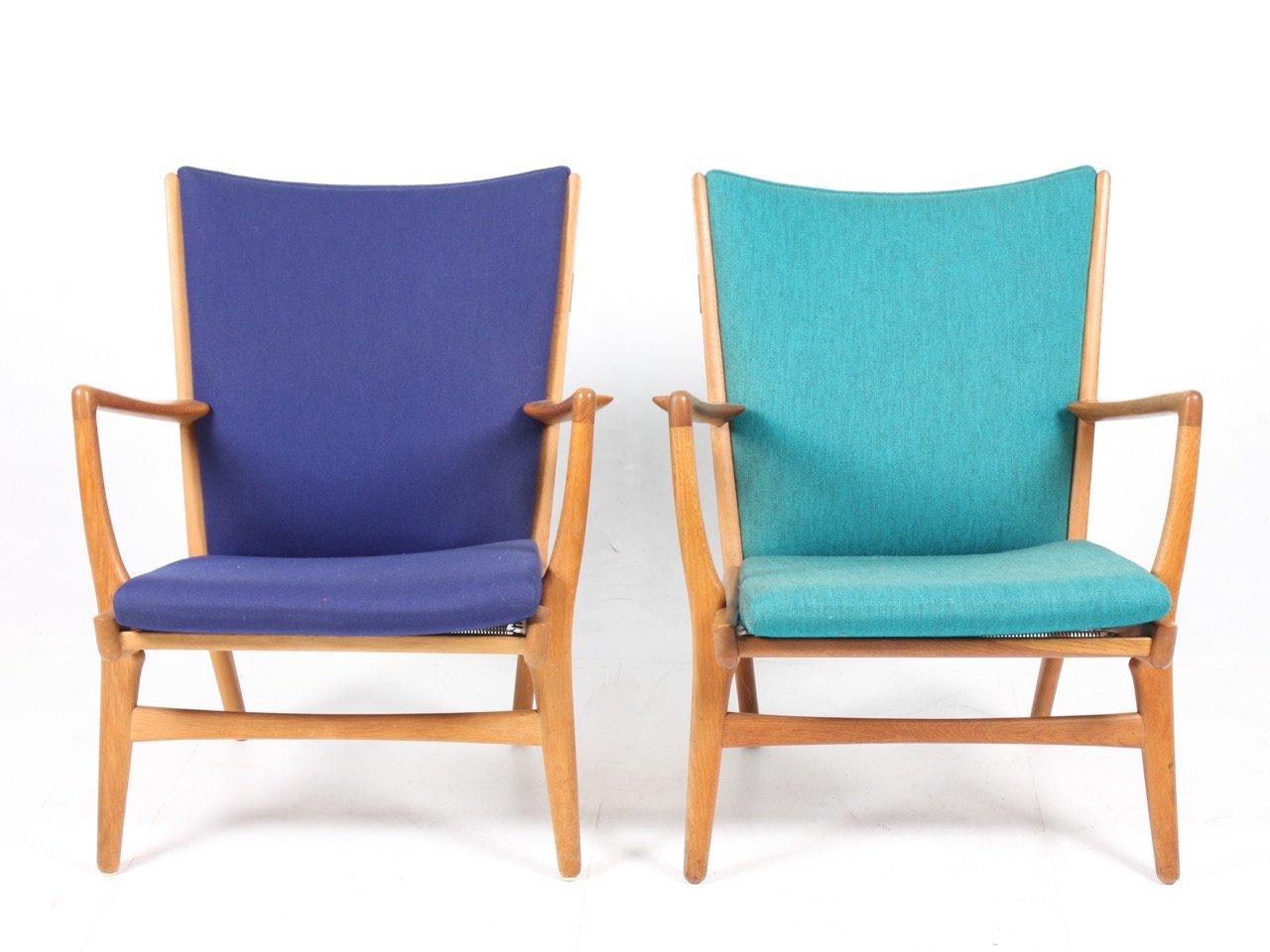 Modell AP 16 Sessel von Wegner fpr A.P. Stolen, 1960er, 2er Set