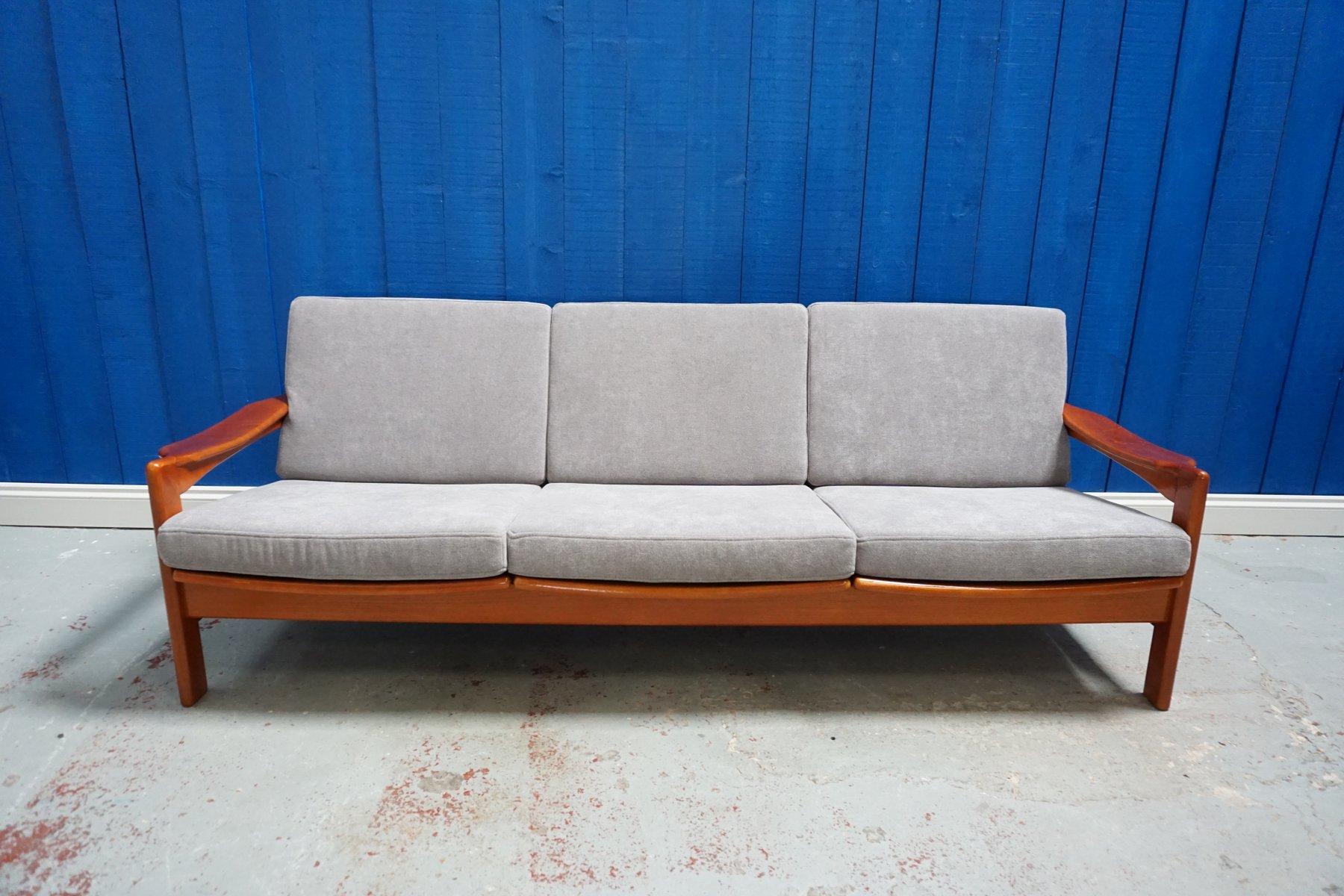 Modernes dänisches 3-Sitzer Sofa, 1960er