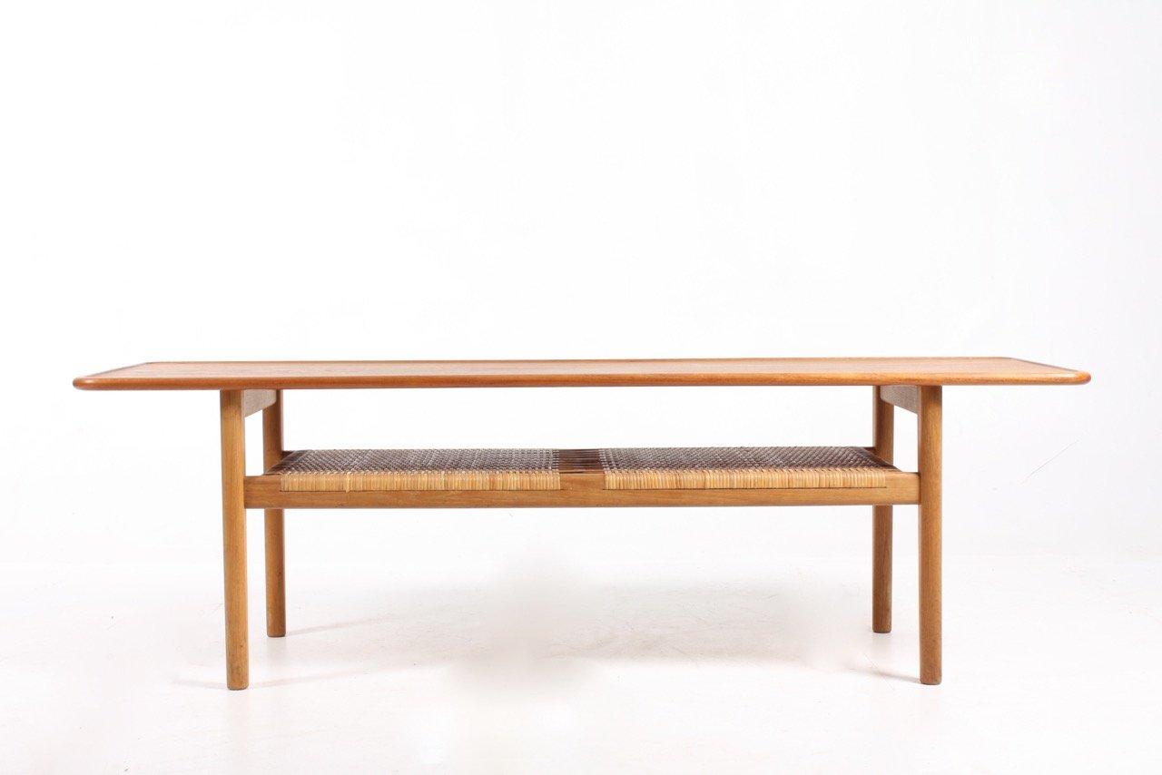 Niedriger Tisch von Hans J. Wegner für Andreas Tuck, 1950er