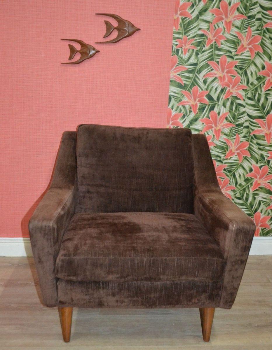 Fabelhaft Brauner Sessel Galerie Von Sessel, 1960er