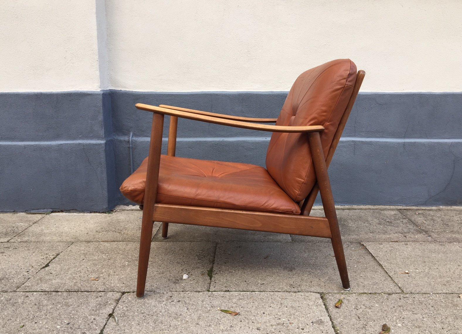 Danish Teak Easy Chair 1960s Bei Pamono Kaufen