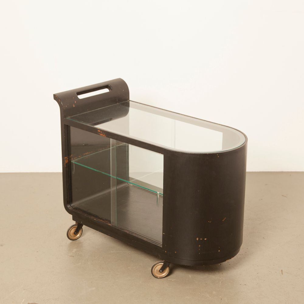 Art Deco Bauhaus Salon Cart, 1930s