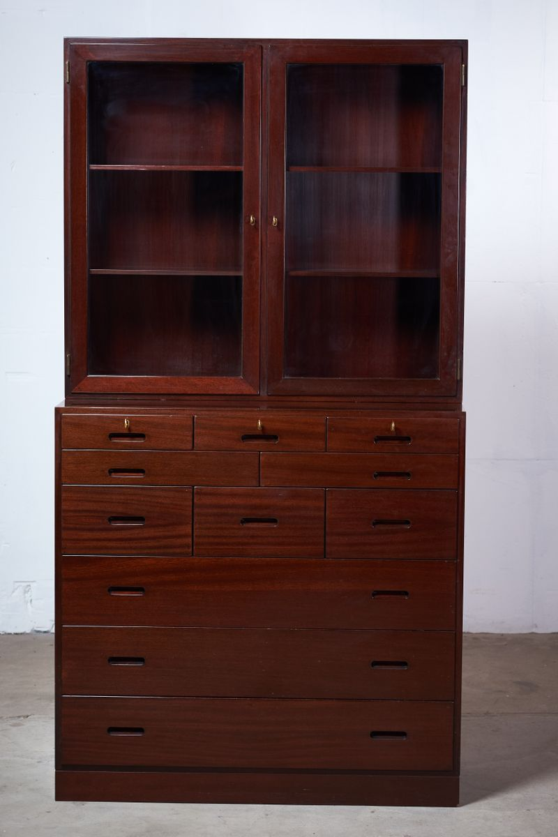 d nische mid century kommode von kaj winding f r poul. Black Bedroom Furniture Sets. Home Design Ideas