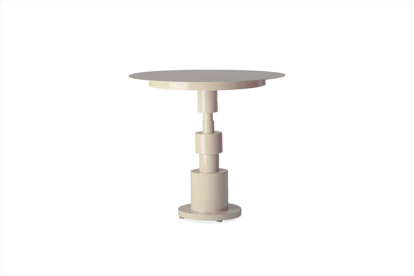 Elfenbeinfarbener Periplo Tisch von Sara Mondaini für Officine Tamborr...