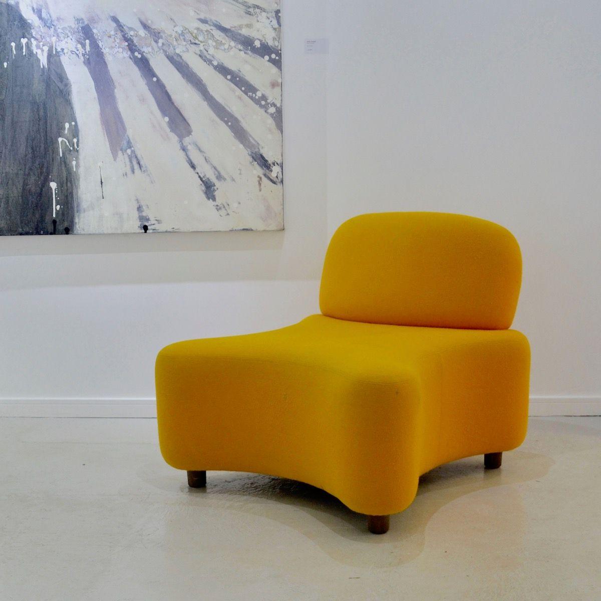 Oranger Sessel, 1960er