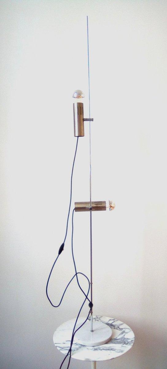 Vintage A5 Stehlampe von Alain Richard für Disderot