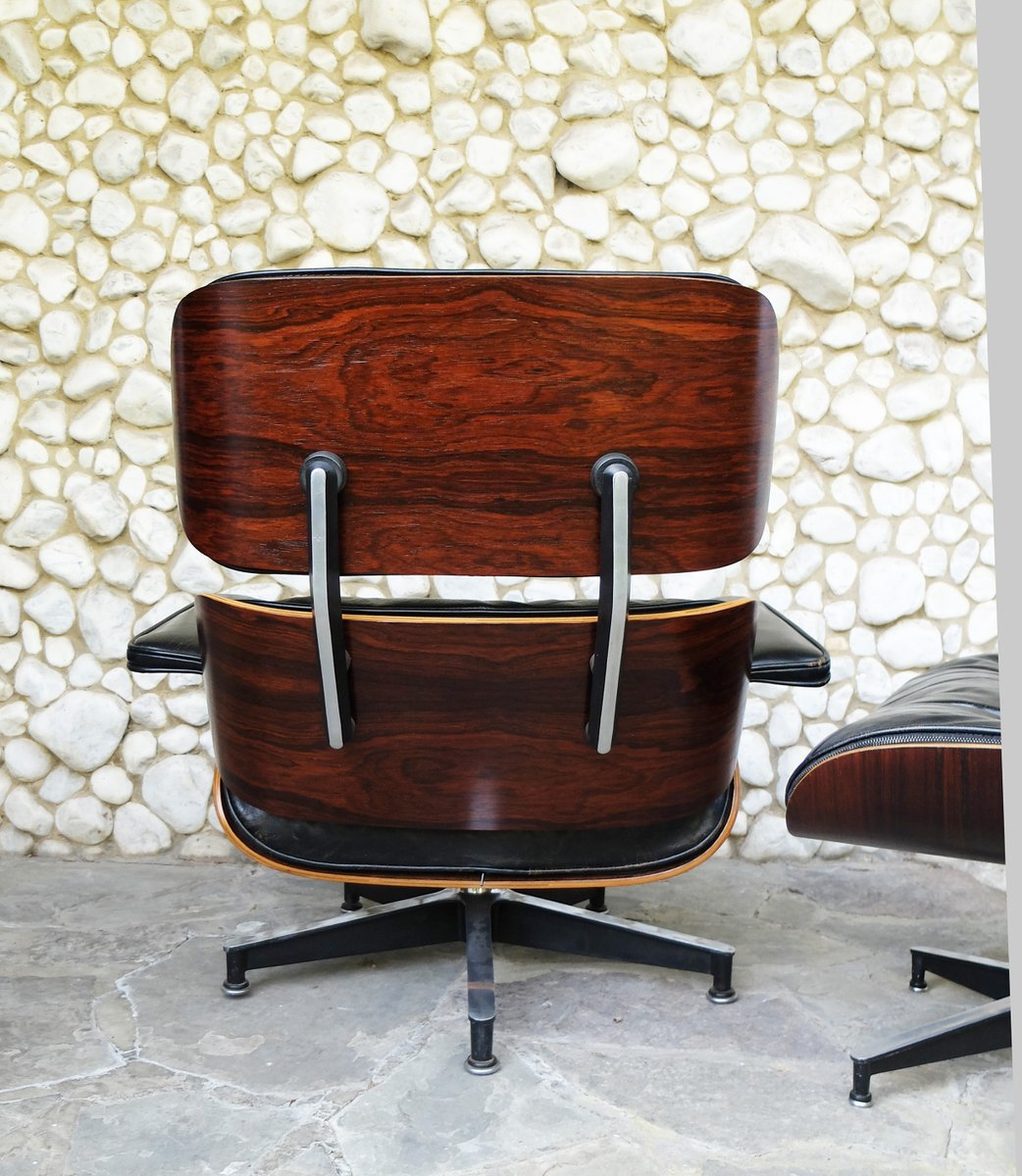 vintage 670 lounge chair and 671 ottoman by charles ray. Black Bedroom Furniture Sets. Home Design Ideas
