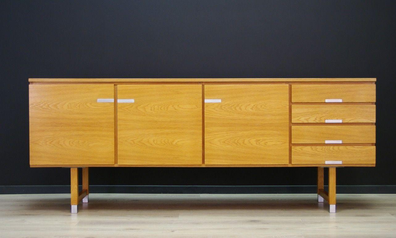 Vintage Sideboard aus Eschenholz von Kai Kristiansen
