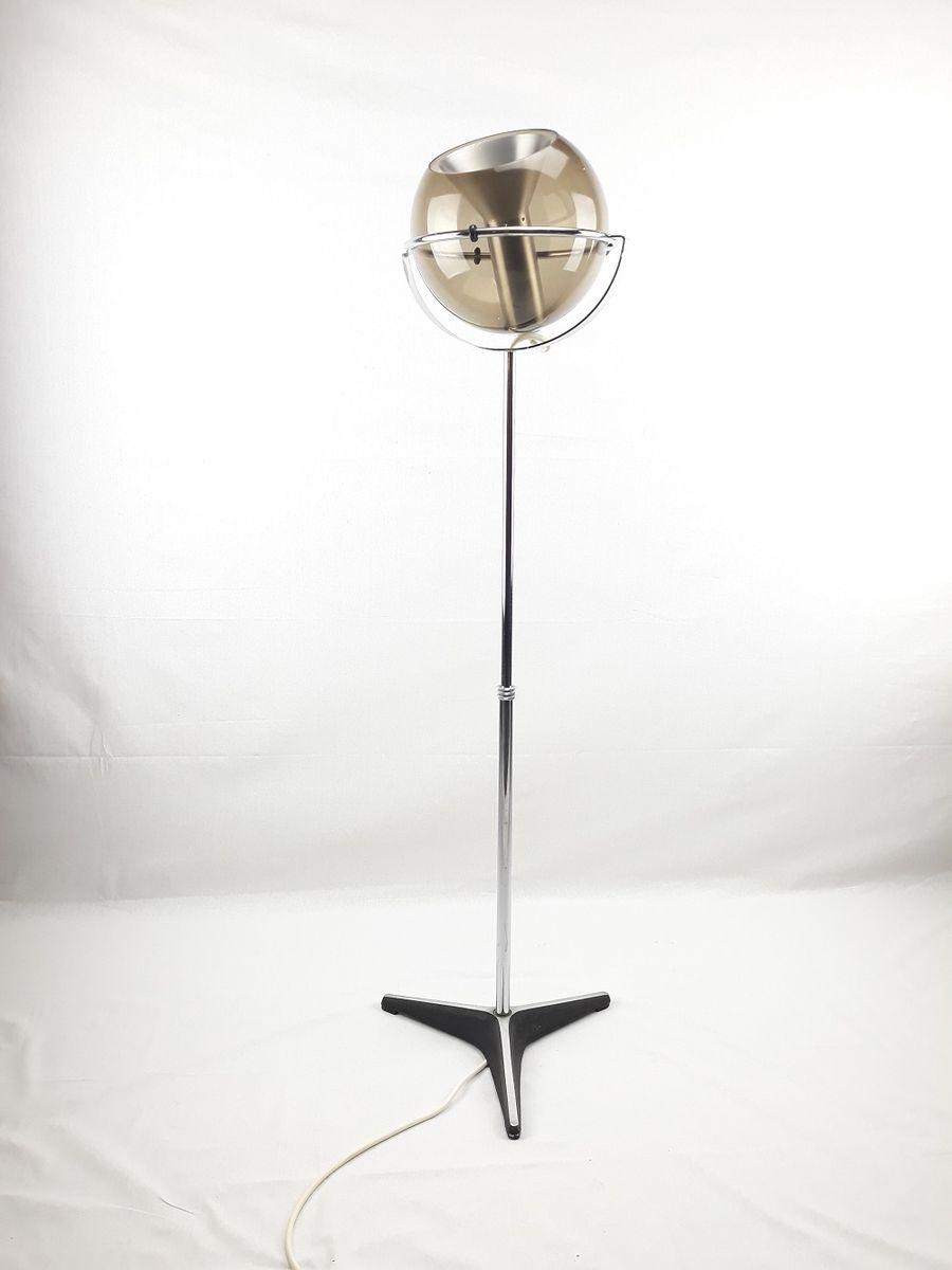 Kugelförmige Stehlampe von Frank Ligtelijn für Raak, 1960er