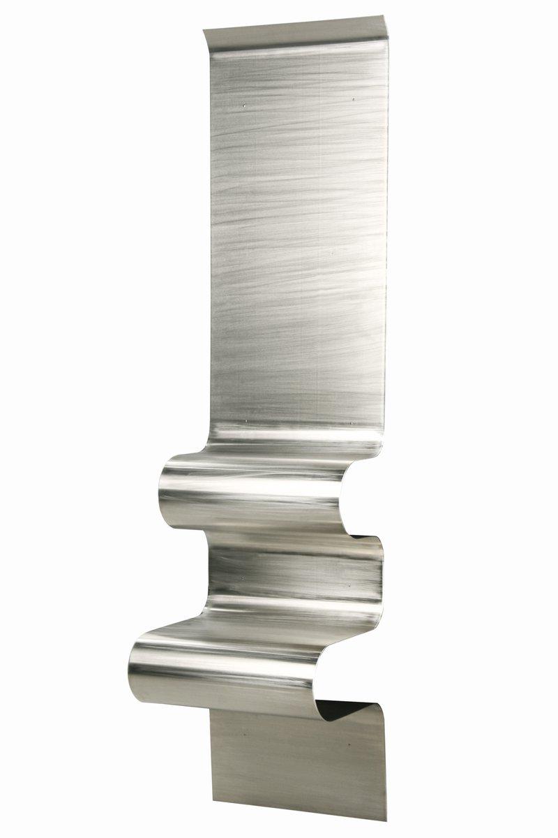 Silver Wave Nightstand by Julien Vidame