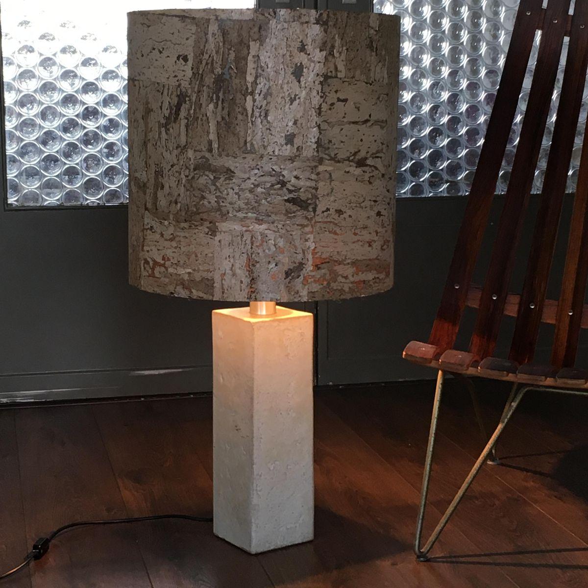 Mid-Century Tischlampe aus Keramik von Mobach