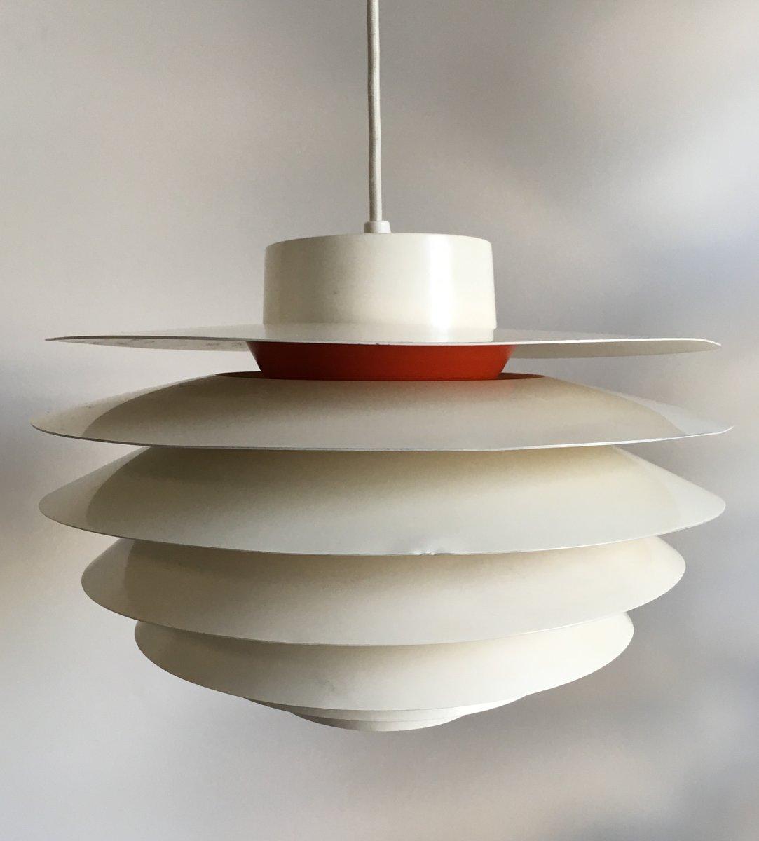Mid-Century Verona Pendant Lamp by Svend Middelboe for Nordisk Solar