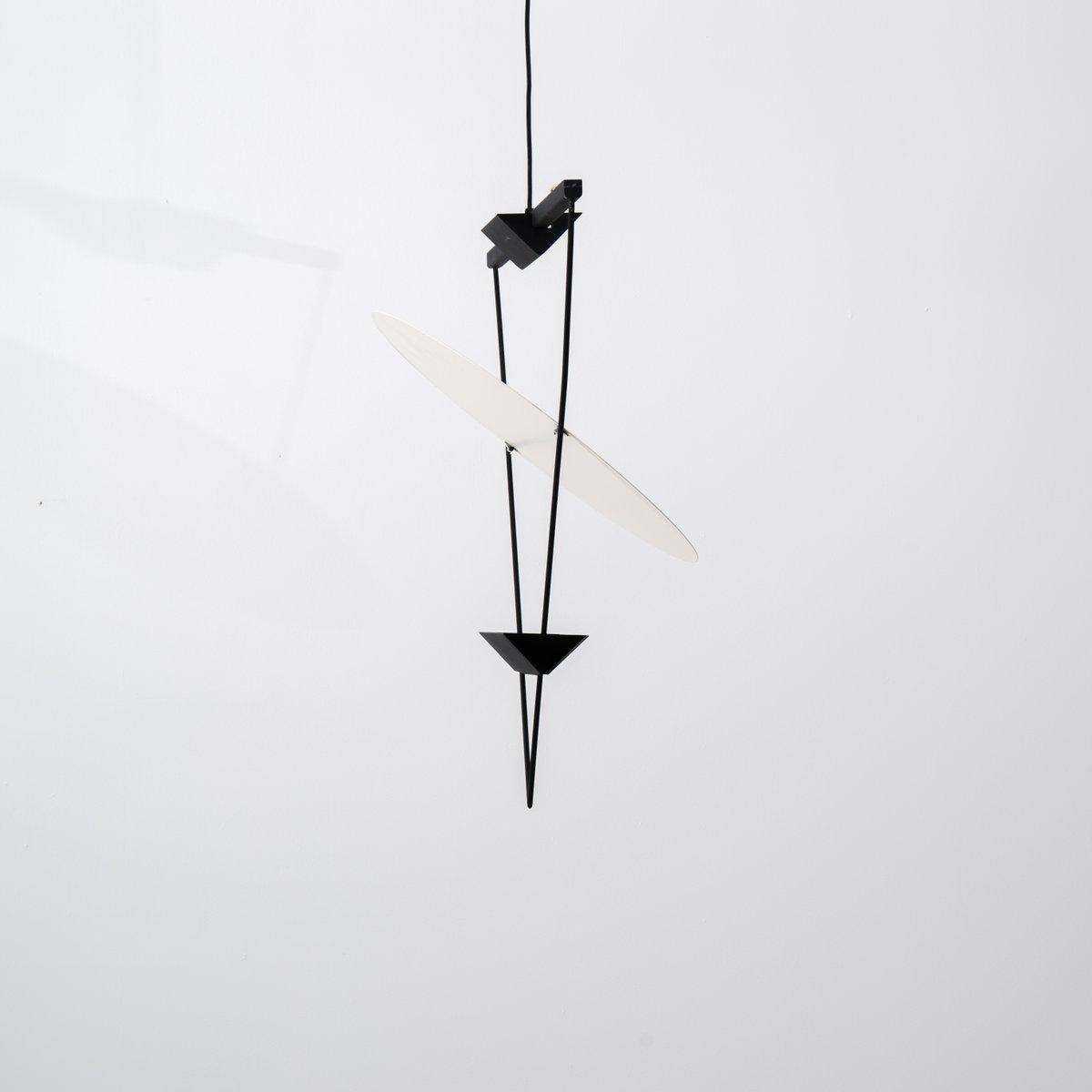 Italienische Inverted Triangle Lampe von Mario Botta für Artemide, 198...
