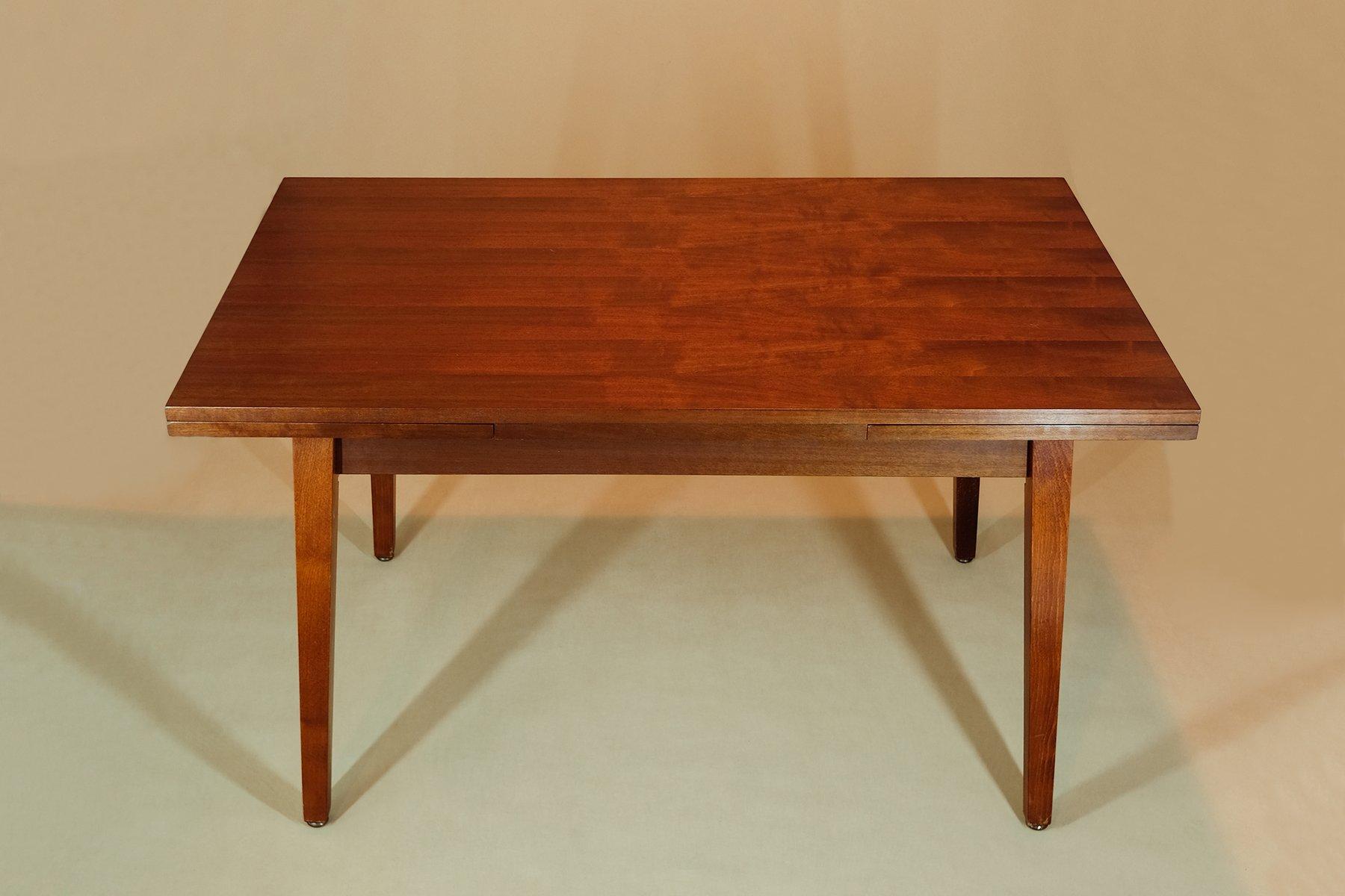 Ausziehbarer & höhenverstellbarer Tisch von VEB Finsterwalde, 1950er