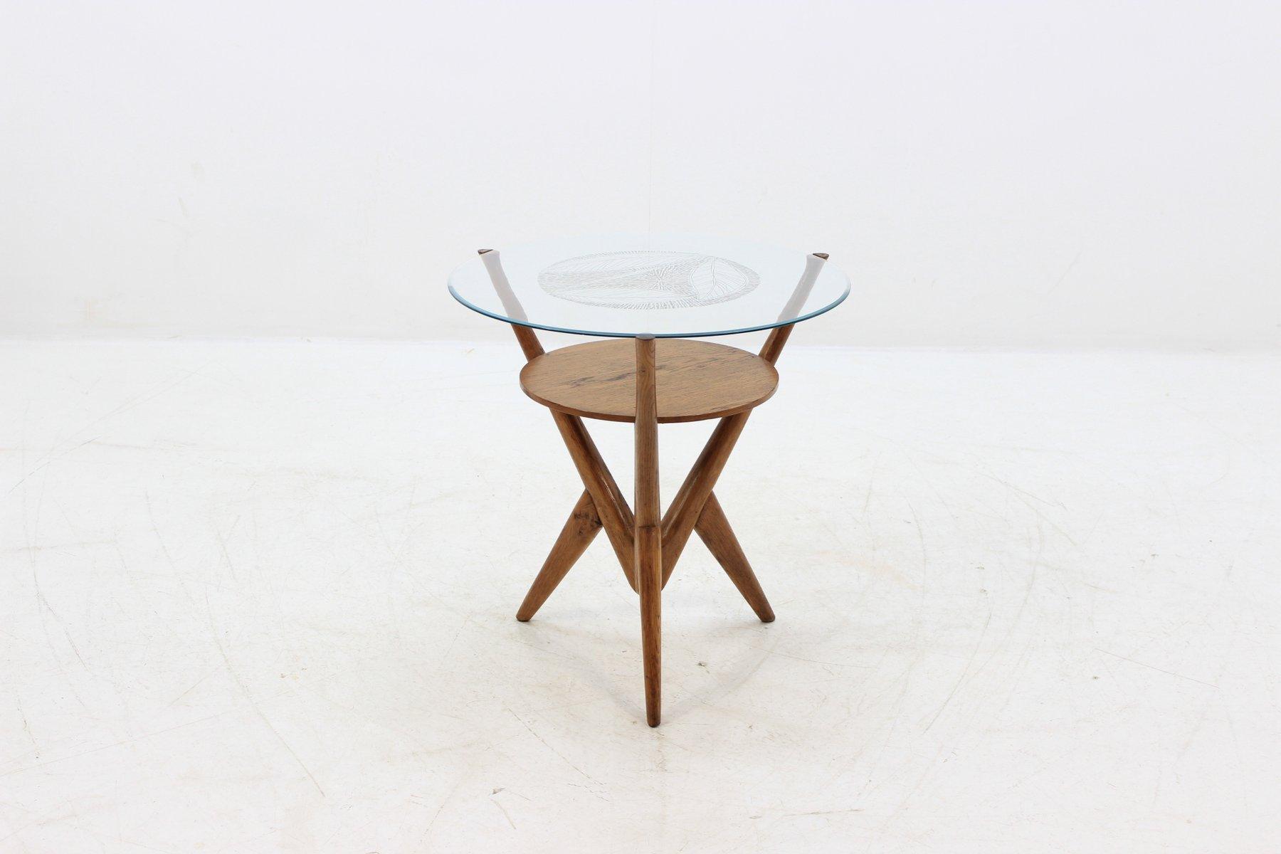 Czech Coffee Table, 1960