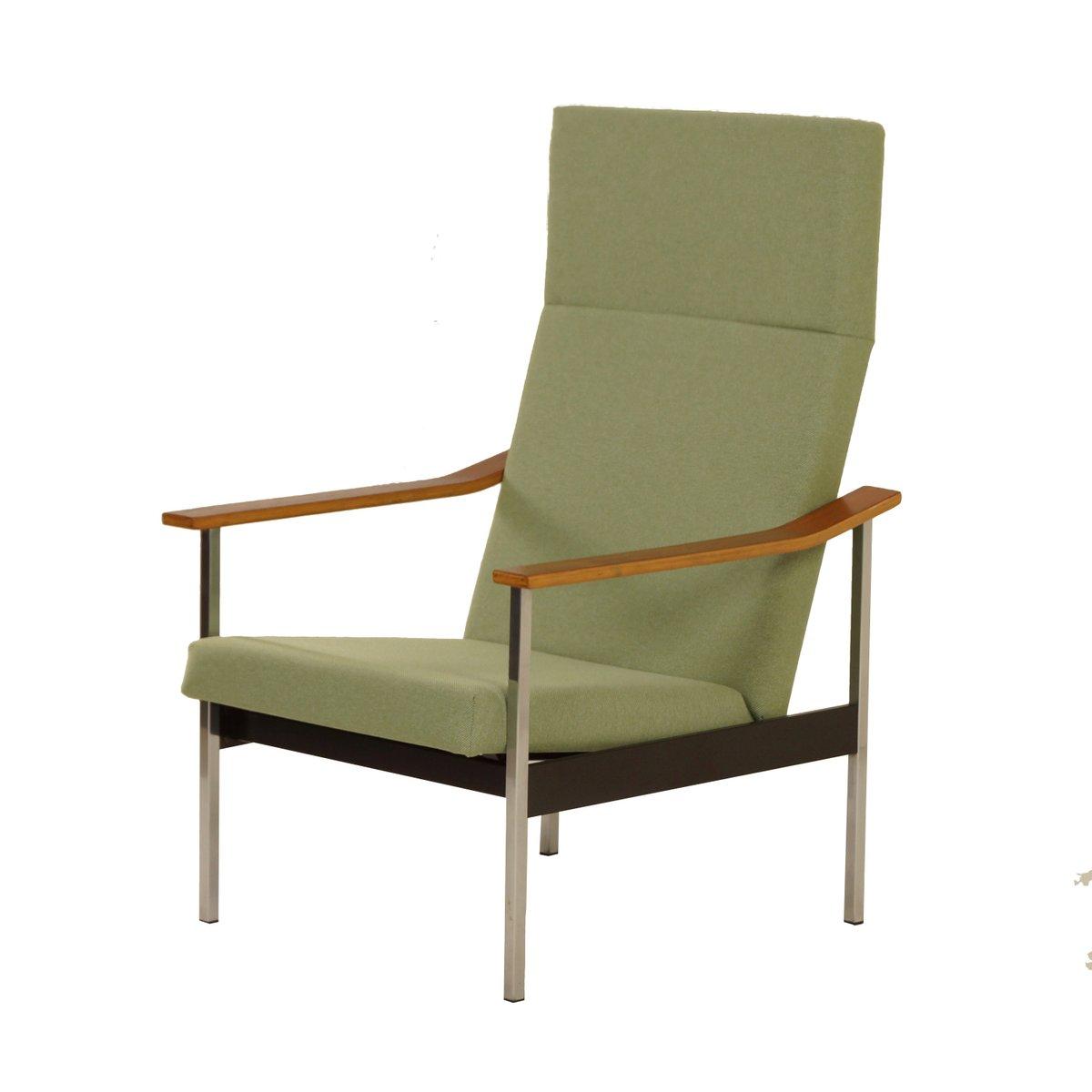 Verstellbarer 1425 Armlehnstuhl von Coen de Vries für Gispen, 1960er
