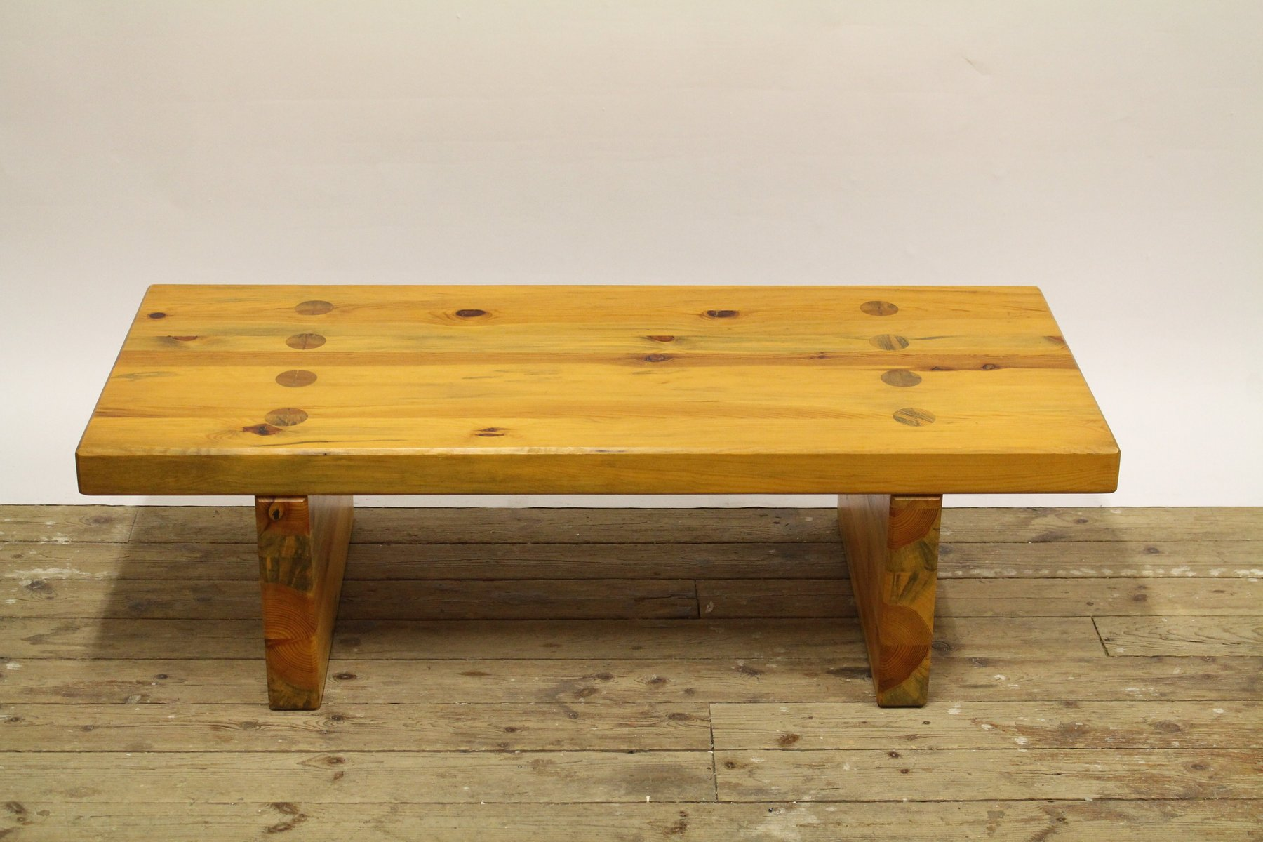 Pine Coffee Table or Bench by Roland Williamsson for Karl Andersson & ...