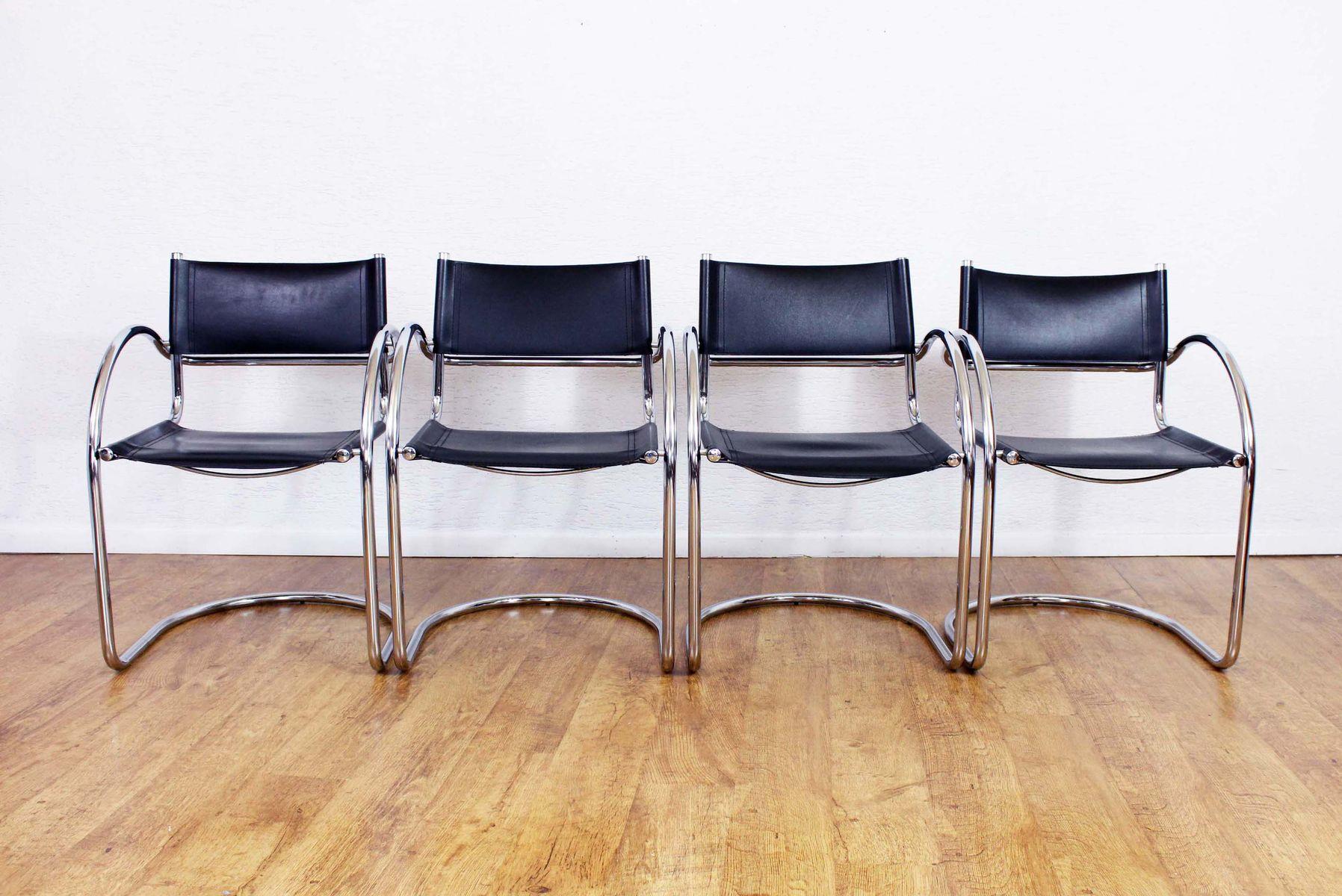 vintage st hle 4er set bei pamono kaufen. Black Bedroom Furniture Sets. Home Design Ideas