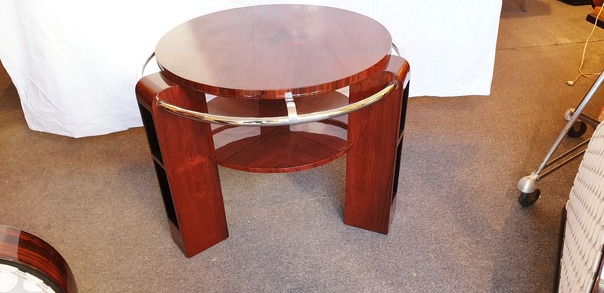 Rio Rosewood Coffee Table, 1930s