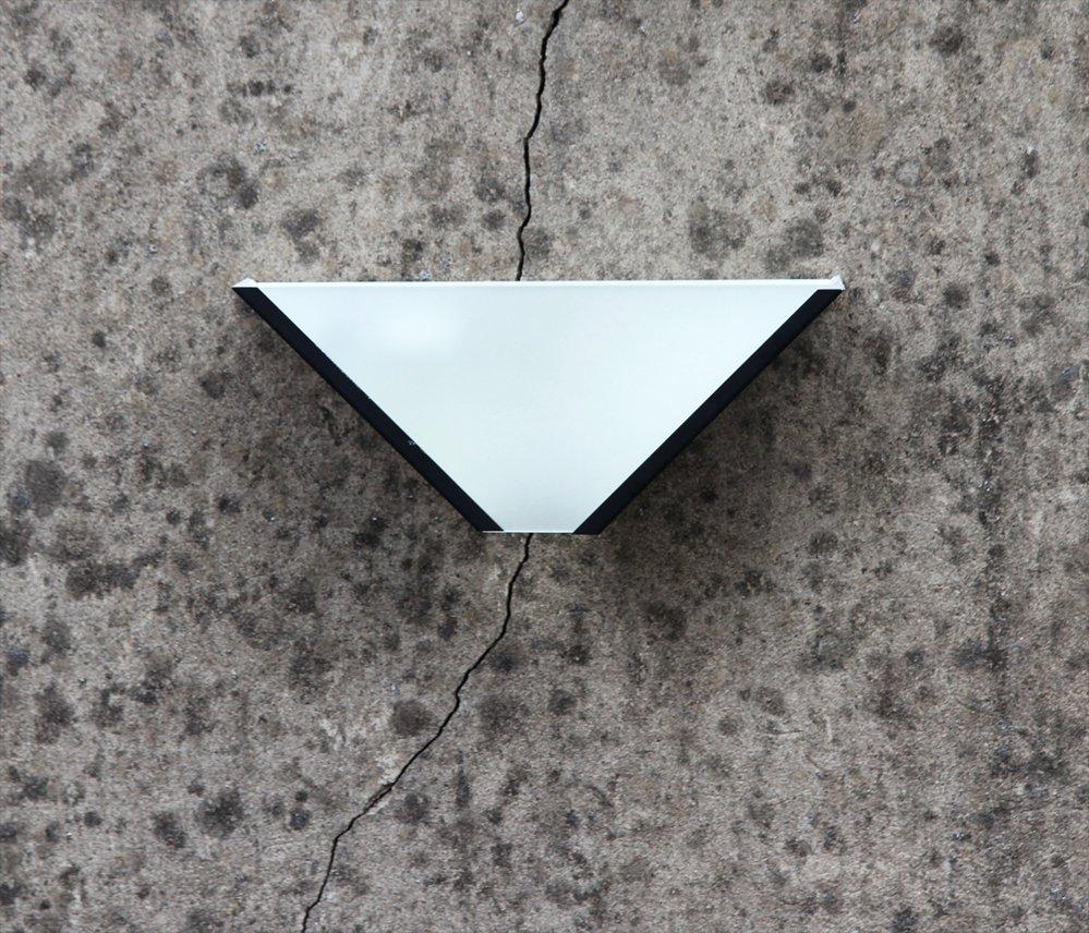 Wandleuchten aus Milchglas, 1980er, 2er Set