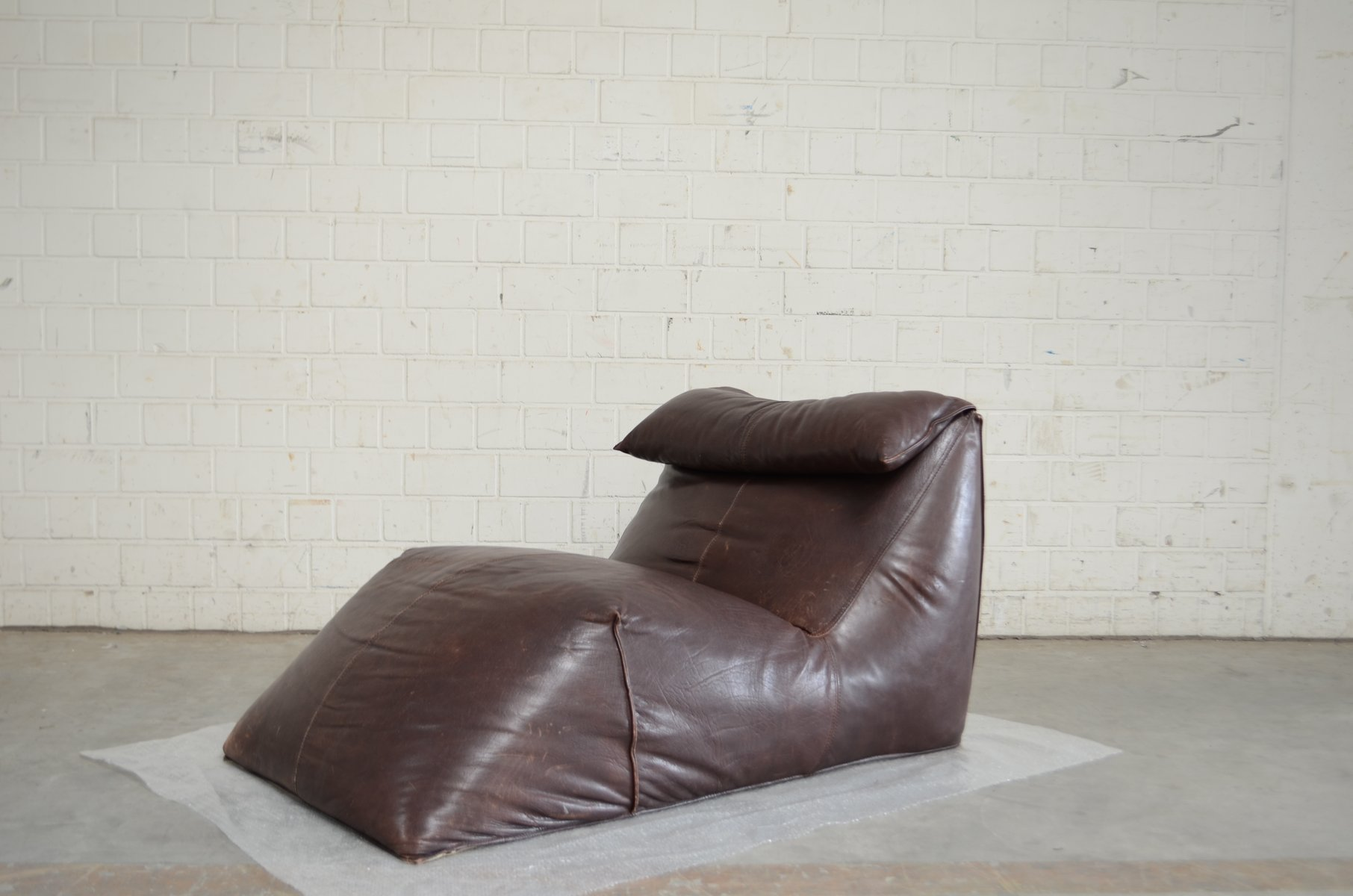 Vintage Le Bambole Chaise Lounge By Mario Bellini For B Amp B