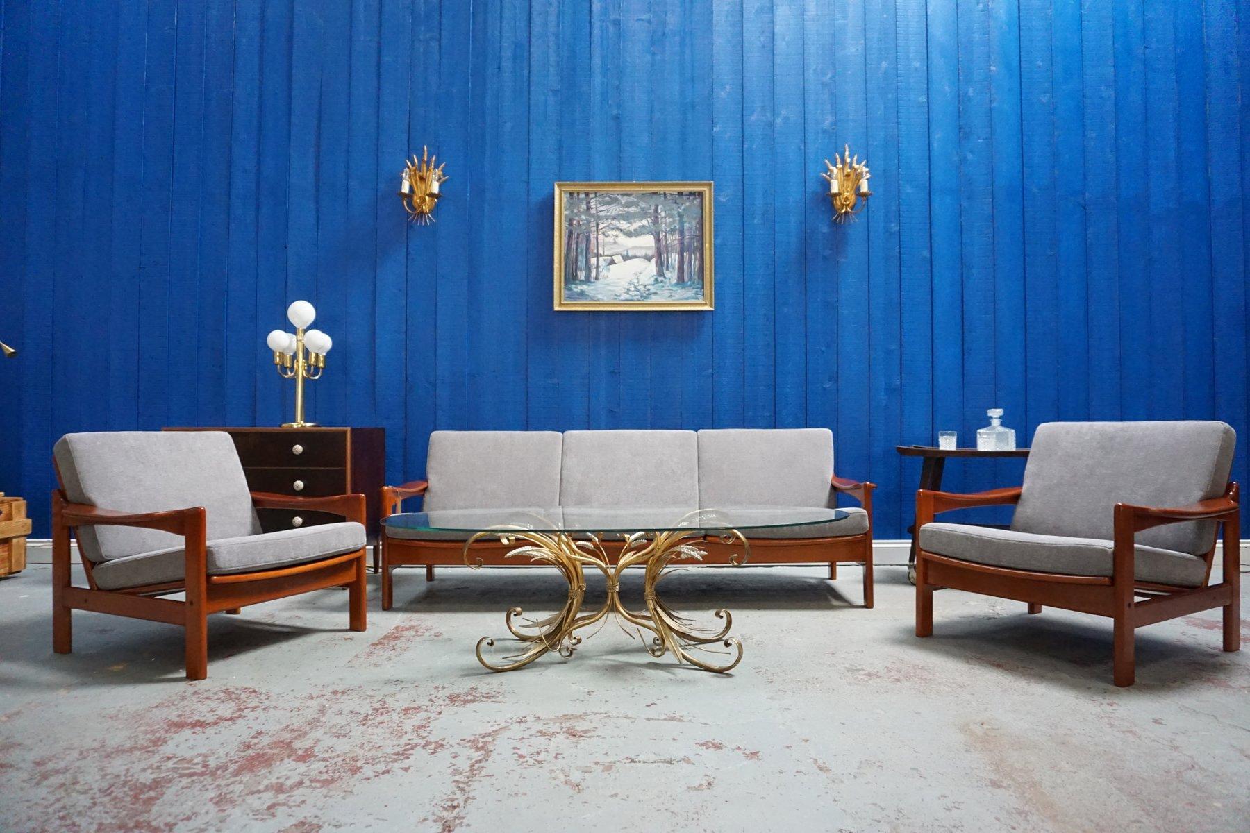 Mid-Century Modern Danish Living Room Set, 1960s for sale ...