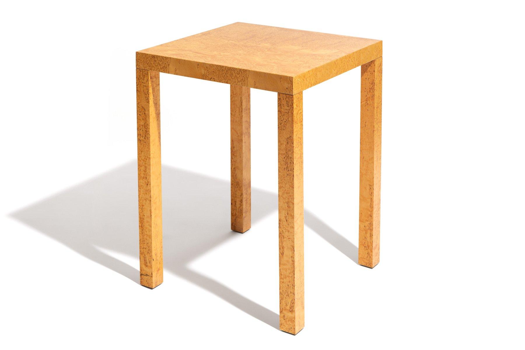 rechteckiger tisch aus wurzelholz 1980er bei pamono kaufen. Black Bedroom Furniture Sets. Home Design Ideas