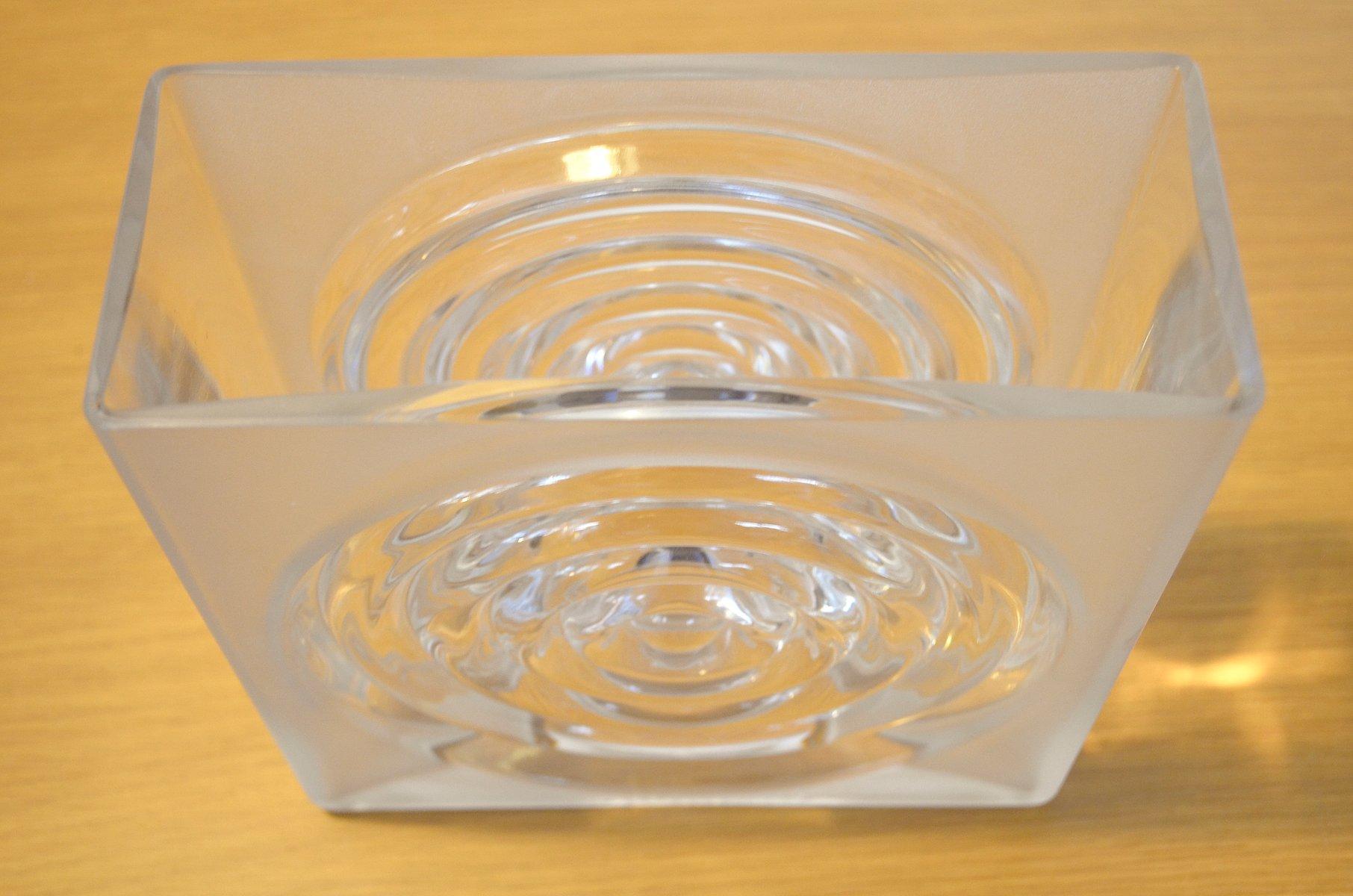 Vintage glasvase von horst t nselmann f r peill putzler - Glasvase vintage ...