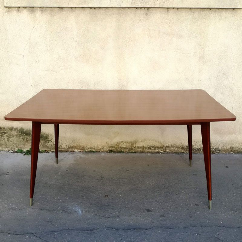Vintage French Dining Table, 1970s
