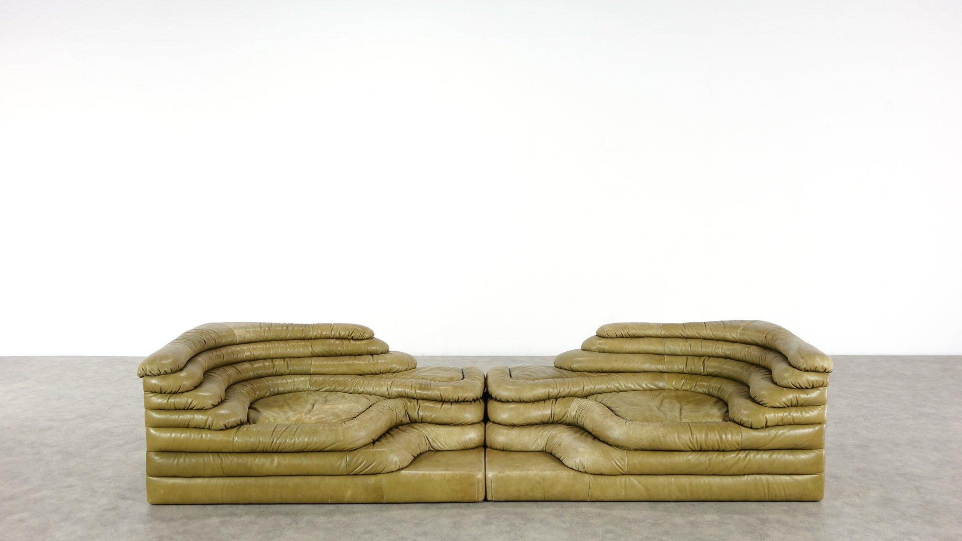 Terrazza Landscape Sofas By Ubald Klug For De Sede 1970s Set Of 2