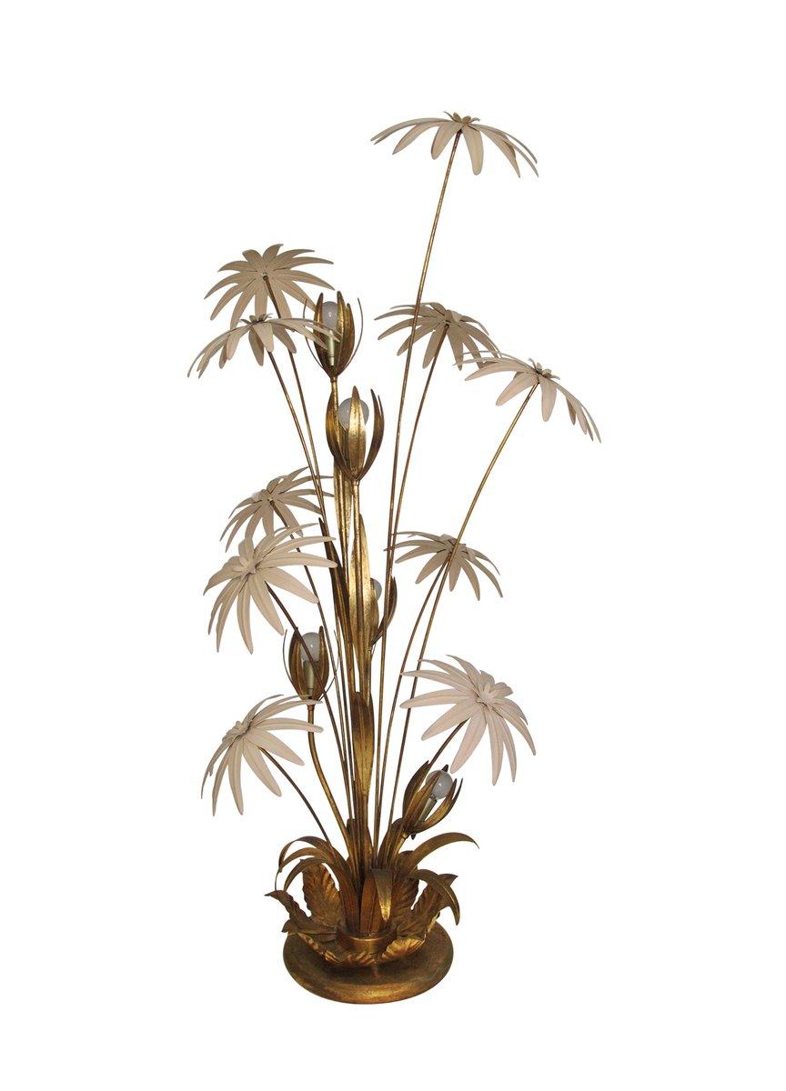 Stehlampe in Blumen-Optik von Hans Kögl, 1970er
