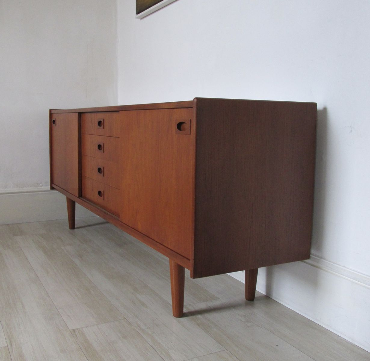 Sideboard aus Teak von Mogens Kold, 1960er