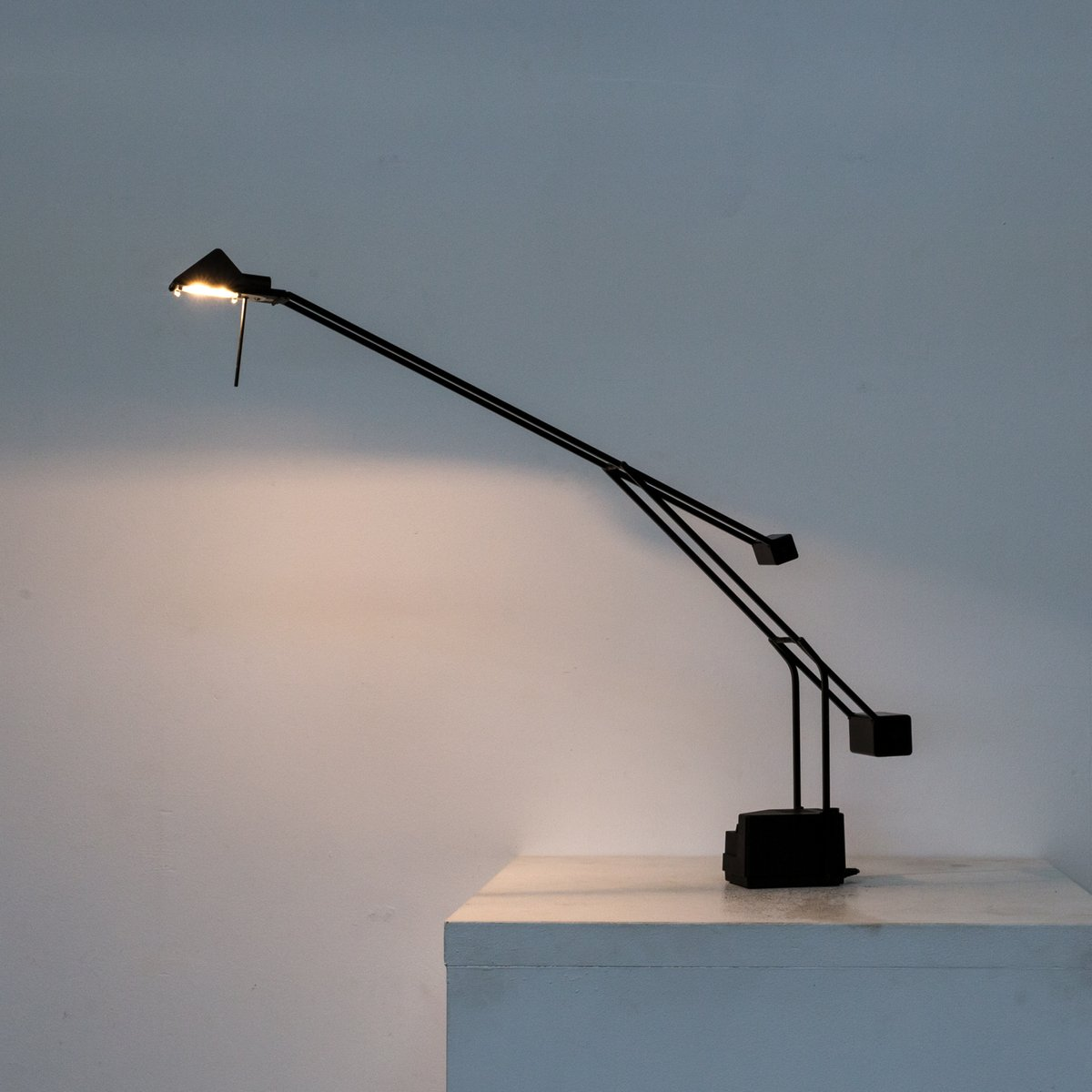 Halogen Counterbalance Desk Lamp From Fase 1980s For Sale