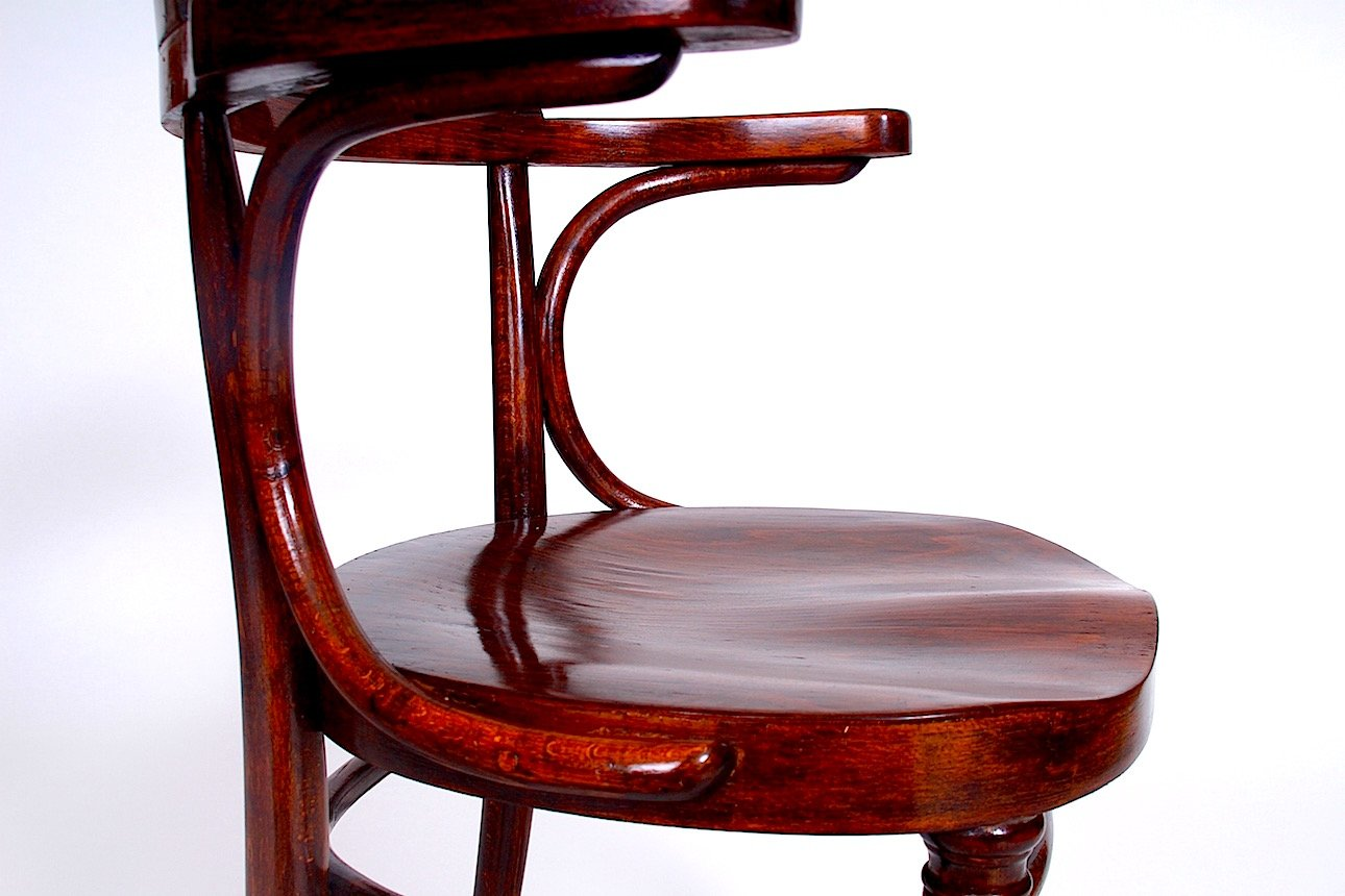 Antique Banker Chair from Thonet, 1915 - Antique Banker Chair From Thonet, 1915 For Sale At Pamono