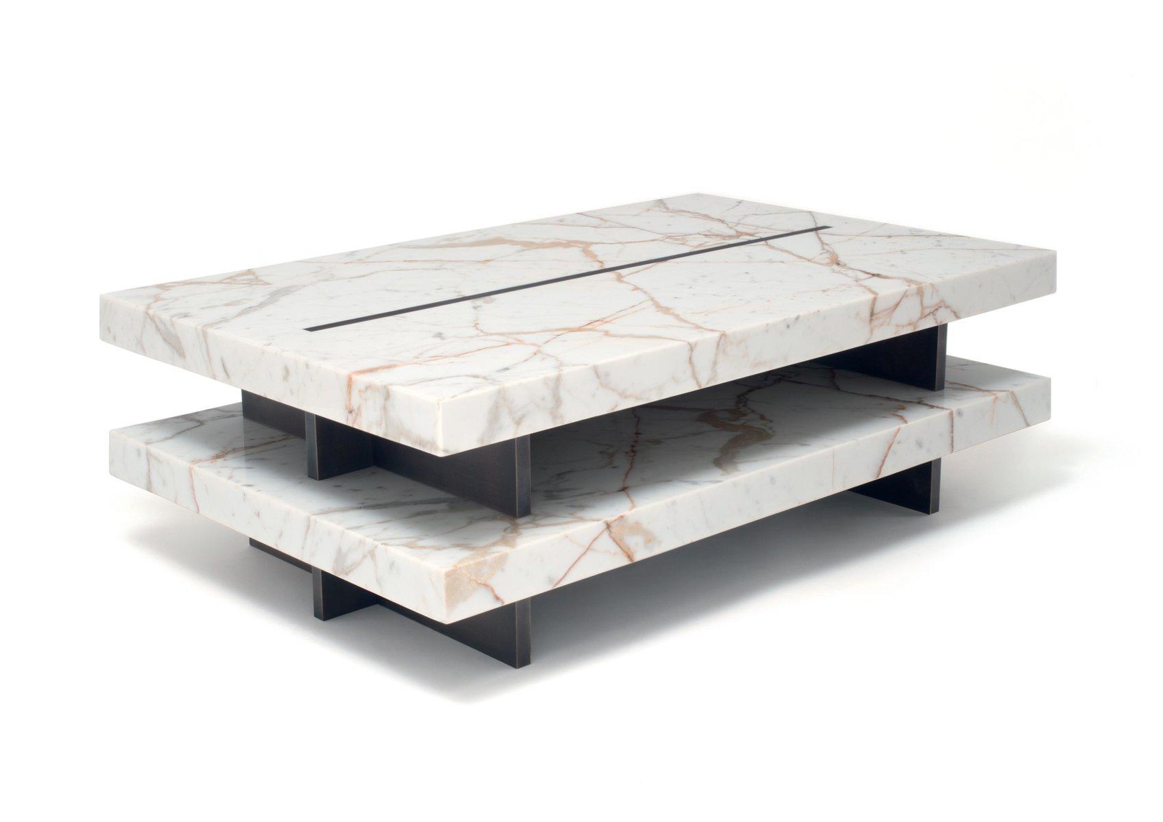 ZIP! Tisch aus Ottone Marmor in Calacatta Gold von Stefano Belingardi ...
