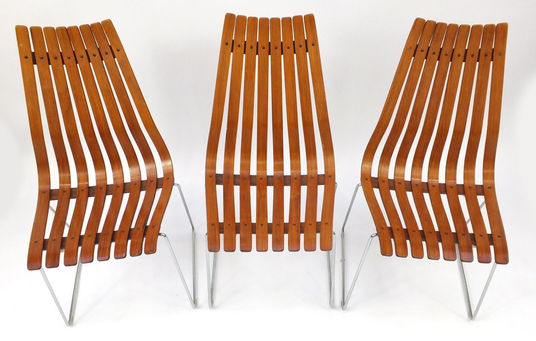 esstisch und 6 st hle aus palisander von hans brattrud f r. Black Bedroom Furniture Sets. Home Design Ideas
