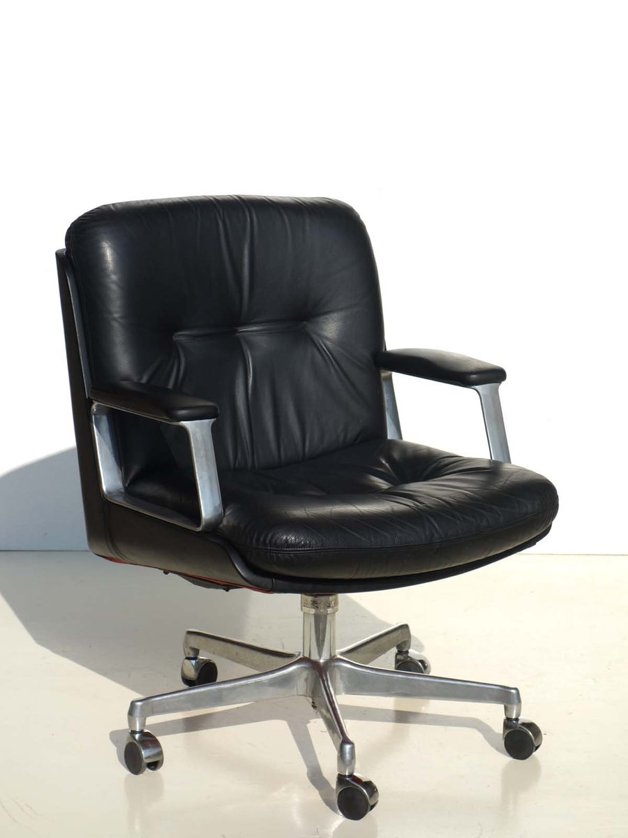 P128 Office Chair By Osvaldo Borsani For Tecno 1970s For Sale At Pamono