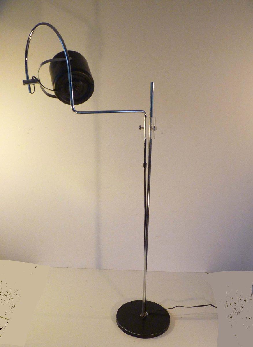 Niederländische Mid-Century Stehlampe