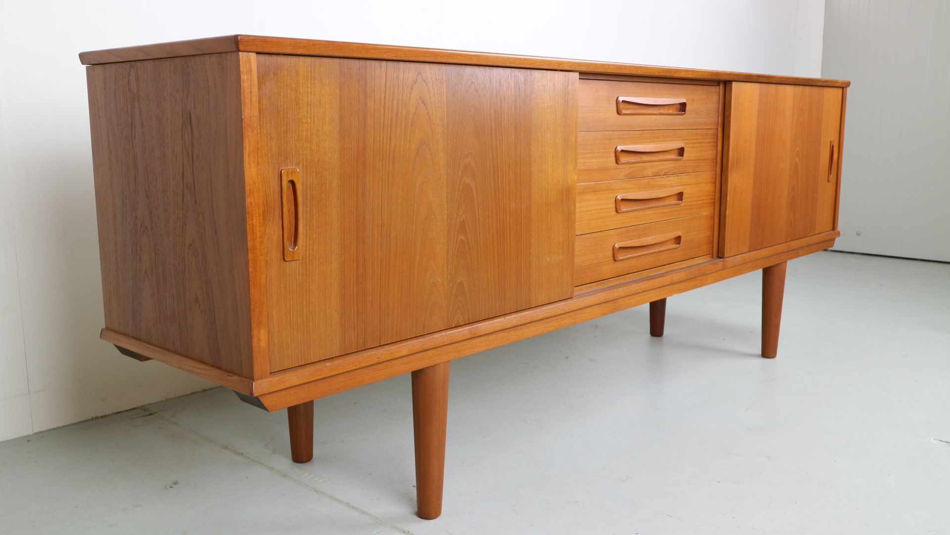 Danish Teak Credenza For Sale : Teak sideboard danish compass www.bilderbeste.com