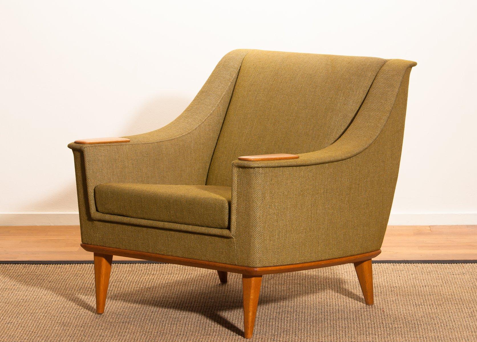 Schwedischer Sessel aus Eiche von Folke Ohlsson für Dux, 1960er